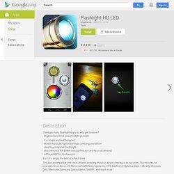 Lampe Torche LED HD Flashlight