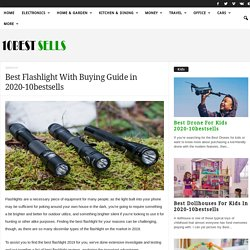 Best Flashlight With Buying Guide in 2020-10bestsells
