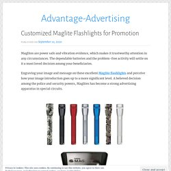 Customized Maglite Flashlights for Promotion – Advantage-Advertising