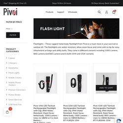 Flashlights - Shop Brightest Most Powerful LED Flashlights