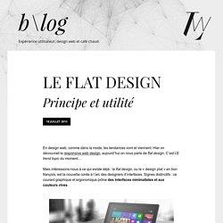 Le Flat Design - Principe et utilité