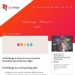 Flat Design - What's it ?