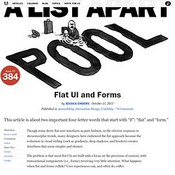 Flat UI and Forms