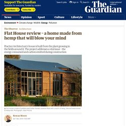 The Flat House review – a home made from hemp that will blow your mind