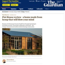Flat House review – a home made from hemp that will blow your mind