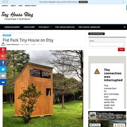 Flat Pack Tiny House on Etsy