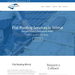 Flat Roofing Wirral - Roofers Wirral
