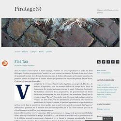 Flat Tax « Piratage(s)