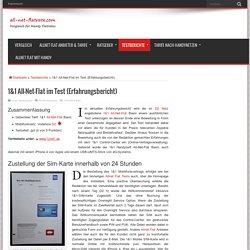 1&1 All-Net-Flat im Test (Erfahrungen im Vodafone D2 Netz)