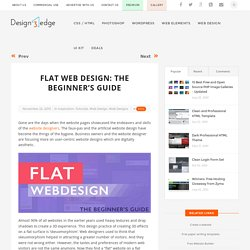 Flat Web Design: The Beginner's Guide