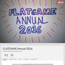 FLATGAME Annual 2016 - itch.io