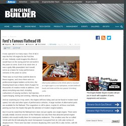 Ford's Famous Flathead V8 - Engine Builder Magazine