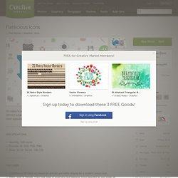 Flatilicious Icons ~ Icons on Creative Market