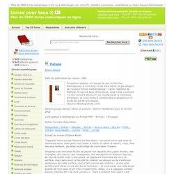 Le ebook de Flatland