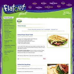 Flatout Recipes « Flatout Bread – Better Than Sliced Bread