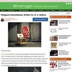 Flatpack Smackdown: KitKat Vs. D. E. Sellers