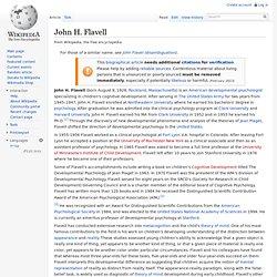John H. Flavell