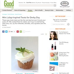 Mint Julep Flavored Desserts - Mint Julep Recipes for Derby Day - Delish