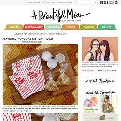 Flavored Popcorn Kit (gift idea)
