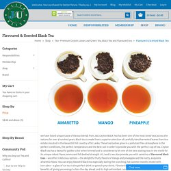 Flavoured Black Tea Online in Australia