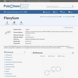 Flavylium