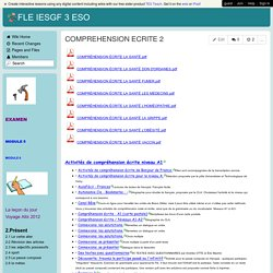 FLE IESGF 3 ESO - COMPREHENSION ECRITE 2
