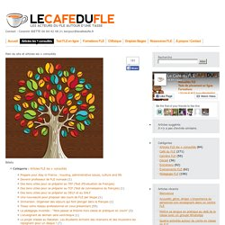 FLE - Le Café du FLE ressources