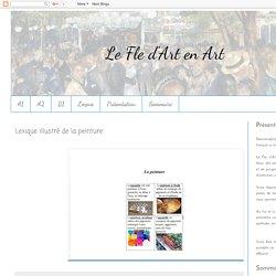 Le Fle d'Art en Art: Lexique illustré de la peinture