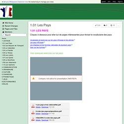 FLE-VACANCES - 1.01 Les Pays