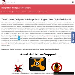 Full-Fledge Avast Support