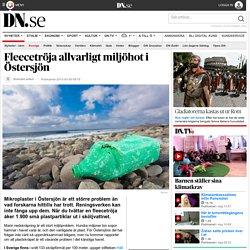 Fleecetröja allvarligt miljöhot i Östersjön