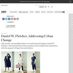 Daniel W. Fletcher, Addressing Urban Change