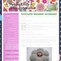 "Fleur ""macaron"" au crochet - poopie-louly.jimdo.com"