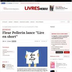 """Fleur Pellerin lance """"Lire en short"""""""