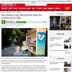 Des boites à lire fleurissent dans les jardins de la ville - 04/08/2014 - ladepeche.fr