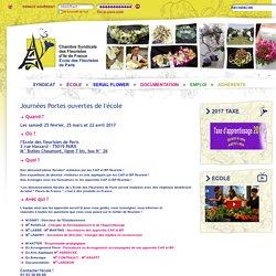 Les Fleuristes > Accueil > Journées Portes ouvertes 2017