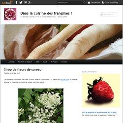 Sirop de fleurs de sureau - Dans la cuisine des frangines !
