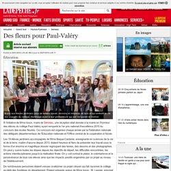 Des fleurs pour Paul-Valéry - 26/01/2016 - ladepeche.fr