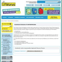 Fleurus écoles et entreprises - Fleurus Presse