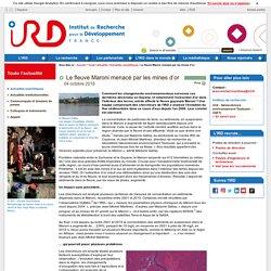 IRD 04/10/18 Le fleuve Maroni menacé par les mines d'or