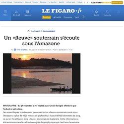 Environnement : Un «fleuve» souterrain s'écoule sous l'Amazone