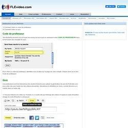 Comment utiliser FLEvidéo.com
