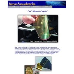 FleX - American Semiconductor, Inc.