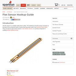 Flex Sensor Hookup Guide