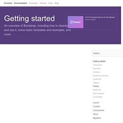 Flexbox · Bootstrap