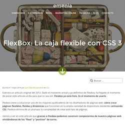FlexBox: La caja flexible con CSS 3 - Tutorial