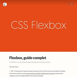 Flexbox - guide complet