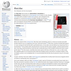 Flexi disc - Wikipedia