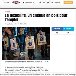 La flexibilité, un chèque en bois pour l'emploi