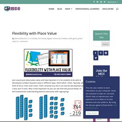 Flexibility with Place Value